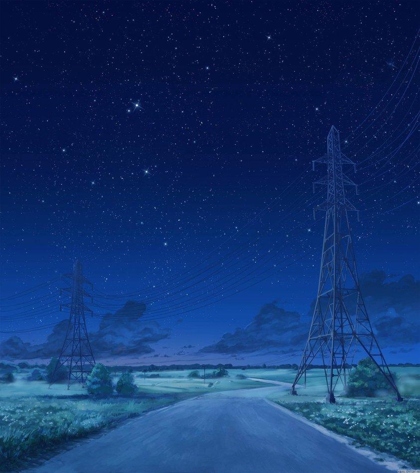 road_night_version_2_by_arsenixc-d71cz2f